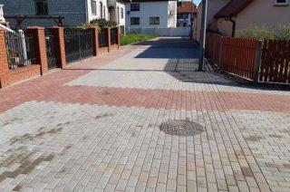 100 metrów nowej nawierzchni na ulicy gen. Maczka