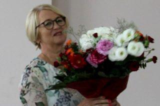 Krystyna Kownacka, sekretarz gminy Wieczfnia Kościelna przeszła na emeryturę
