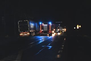Tragiczny wypadek w Starych Kosinach, zginął kierowca