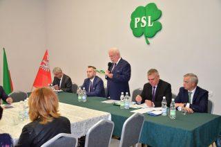 Włodzimierz Wojnarowski kolejną kadencję pokieruje powiatowym PSL-em