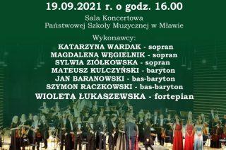 PSM zaprasza na koncert laureatów Ogólnopolskiego Konkursu Wokalnego im. Zdzisława Skwary
