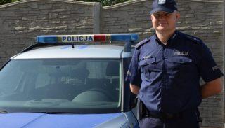 Dzielnicowy podczas patrolu uratował życie 63 – latka