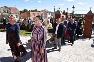 Dożynki w parafii Wyszyny Kościelne