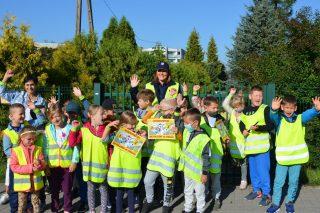 Bezpieczna droga do szkoły – działania mławskiej policji