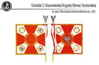 W niedzielę uroczyste wręczenie sztandaru dla 5 Mazowieckiej Brygady Obrony Terytorialnej