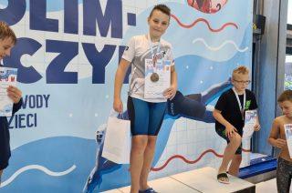 Trzy medale mławskiego pływaka
