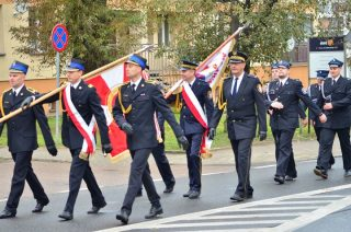 Oficjalne obchody 140. rocznicy powstania Ochotniczej Straży Pożarnej w Mławie